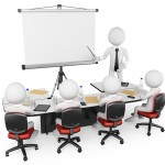 http://www.dreamstime.com/stock-image-d-white-people-business-workshop-persons-presentation-background-image31740761
